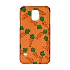 Carrot pattern Samsung Galaxy S5 Hardshell Case