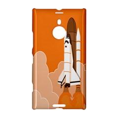 Rocket Space Ship Orange Nokia Lumia 1520