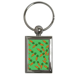 Carrot pattern Key Chains (Rectangle)