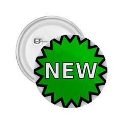 New Icon Sign 2.25  Buttons