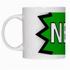 New Icon Sign White Mugs
