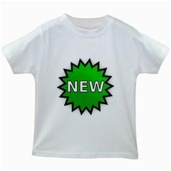 New Icon Sign Kids White T-Shirts