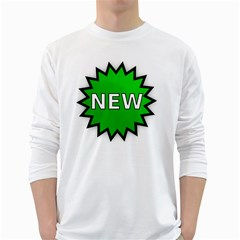 New Icon Sign White Long Sleeve T-Shirts