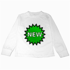 New Icon Sign Kids Long Sleeve T-Shirts