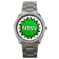New Icon Sign Sport Metal Watch