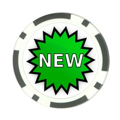 New Icon Sign Poker Chip Card Guard