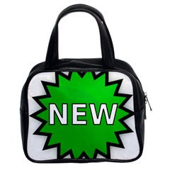 New Icon Sign Classic Handbags (2 Sides)