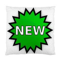 New Icon Sign Standard Cushion Case (Two Sides)
