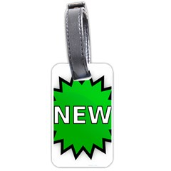New Icon Sign Luggage Tags (Two Sides)