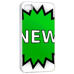 New Icon Sign Apple iPhone 4/4s Seamless Case (White)
