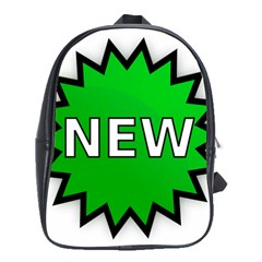 New Icon Sign School Bags (XL)