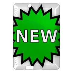 New Icon Sign Kindle Fire HDX Hardshell Case