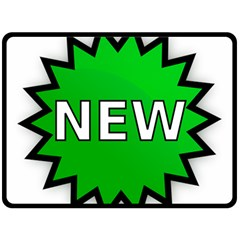 New Icon Sign Double Sided Fleece Blanket (Large)