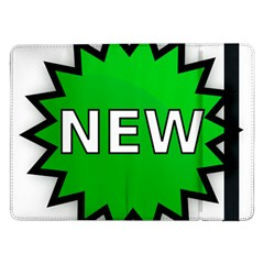 New Icon Sign Samsung Galaxy Tab Pro 12.2  Flip Case