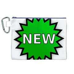 New Icon Sign Canvas Cosmetic Bag (XL)