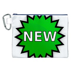 New Icon Sign Canvas Cosmetic Bag (XXL)