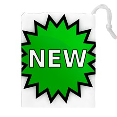 New Icon Sign Drawstring Pouches (XXL)