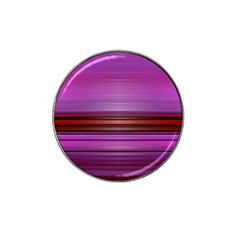 Stripes Line Red Purple Hat Clip Ball Marker (4 pack)