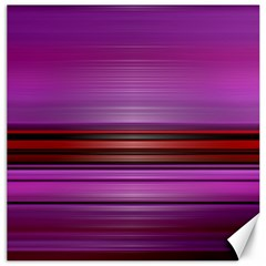 Stripes Line Red Purple Canvas 12  x 12
