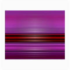 Stripes Line Red Purple Small Glasses Cloth (2-Side)
