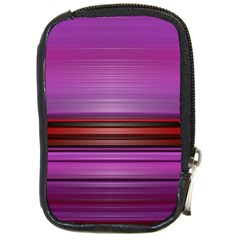 Stripes Line Red Purple Compact Camera Cases
