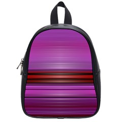 Stripes Line Red Purple School Bags (small)