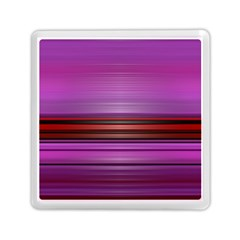 Stripes Line Red Purple Memory Card Reader (Square)