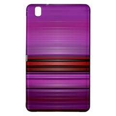 Stripes Line Red Purple Samsung Galaxy Tab Pro 8.4 Hardshell Case