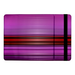 Stripes Line Red Purple Samsung Galaxy Tab Pro 10.1  Flip Case