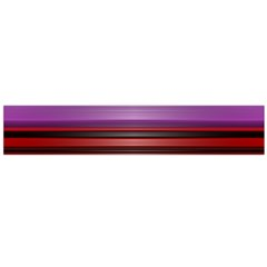 Stripes Line Red Purple Flano Scarf (Large)