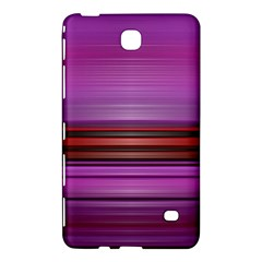 Stripes Line Red Purple Samsung Galaxy Tab 4 (7 ) Hardshell Case