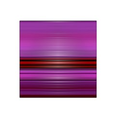 Stripes Line Red Purple Satin Bandana Scarf