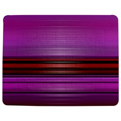 Stripes Line Red Purple Jigsaw Puzzle Photo Stand (Rectangular)