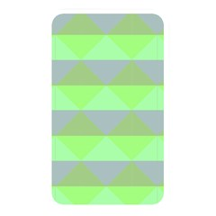 Squares Triangel Green Yellow Blue Memory Card Reader