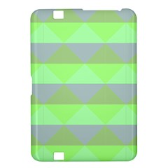 Squares Triangel Green Yellow Blue Kindle Fire HD 8.9