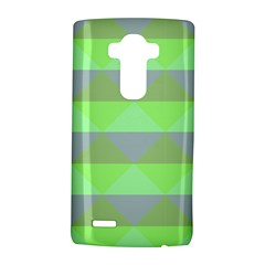 Squares Triangel Green Yellow Blue LG G4 Hardshell Case