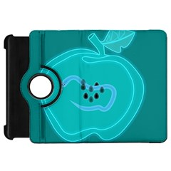 Xray Worms Fruit Apples Blue Kindle Fire HD 7
