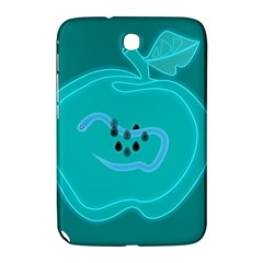 Xray Worms Fruit Apples Blue Samsung Galaxy Note 8.0 N5100 Hardshell Case