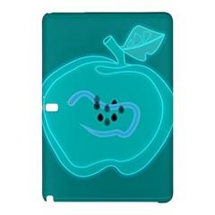 Xray Worms Fruit Apples Blue Samsung Galaxy Tab Pro 10 1 Hardshell Case