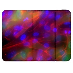 Vaccine Blur Red Samsung Galaxy Tab 7  P1000 Flip Case