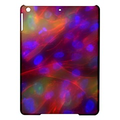Vaccine Blur Red iPad Air Hardshell Cases
