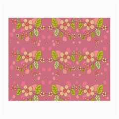 Floral pattern Small Glasses Cloth (2-Side)