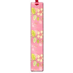 Floral pattern Large Book Marks