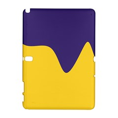 Purple Yellow Wave Galaxy Note 1