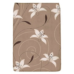 Star Flower Floral Grey Leaf Flap Covers (S)