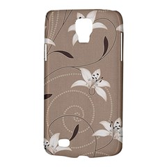 Star Flower Floral Grey Leaf Galaxy S4 Active