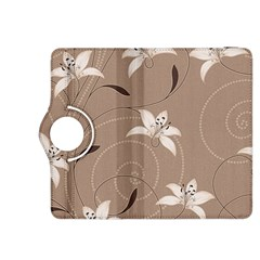 Star Flower Floral Grey Leaf Kindle Fire HDX 8.9  Flip 360 Case