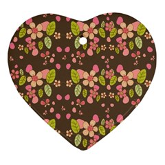 Floral pattern Ornament (Heart)