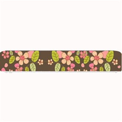 Floral pattern Small Bar Mats