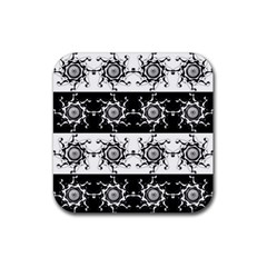 Three Wise Men Gotham Strong Hand Rubber Square Coaster (4 pack)